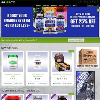 Ruesco Supplement Outlet