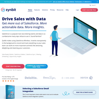 ZynBit For Salesforce- Drive Sales With Data