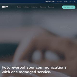 MetTel - Business Telecom - Data & Network Services