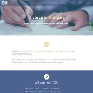Divorcein Hungary – Help in your international divorce case