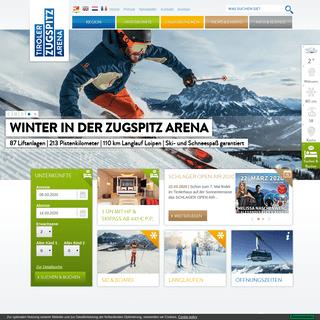 ArchiveBay.com - zugspitzarena.com - Urlaub Tiroler Zugspitz Arena- Offizielle Website