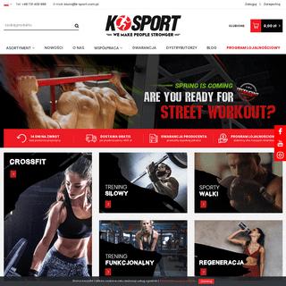 Producent sprzętu sportowego K-sport Polska