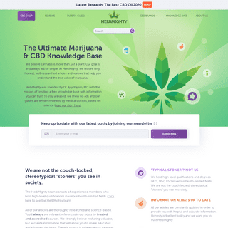 HerbMighty - The Ultimate Marijuana & CBD Knowledge Base