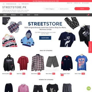 StreetStore.pk - 100- Original Brands Used Item (Landa) Online Shop for Mens, Womens & Kids