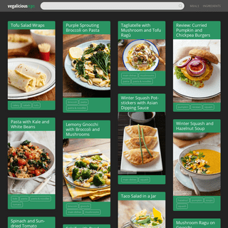Vegalicious Recipes – More than 1200 healthy and authentic home made vegan recipes.