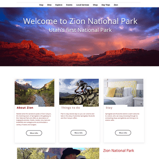 ArchiveBay.com - zionpark.com - Zion National Park - Zion Canyon Visitors Bureau