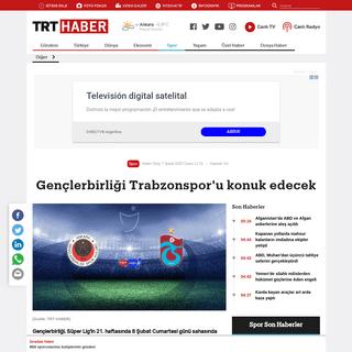 Gençlerbirliği Trabzonspor'u konuk edecek