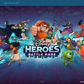 Disney Heroes- Battle Mode