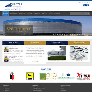 ArchiveBay.com - sttp-transformation.com - Sttp tunisie Société de transformation toile & plastique