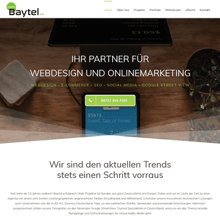Baytel - Webdesign - Marketing - Google Fotograf Bayern