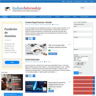 IndianInternship - Your online companion for Internship!