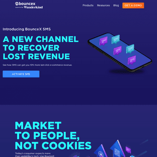 BounceX- Market To People, Not Cookies