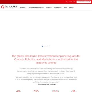 Homepage - Quanser