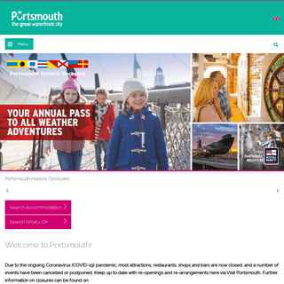 Visit Portsmouth - Official Portsmouth Tourist Information Site