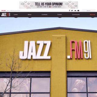 JAZZ.FM91 - Canada's jazz station