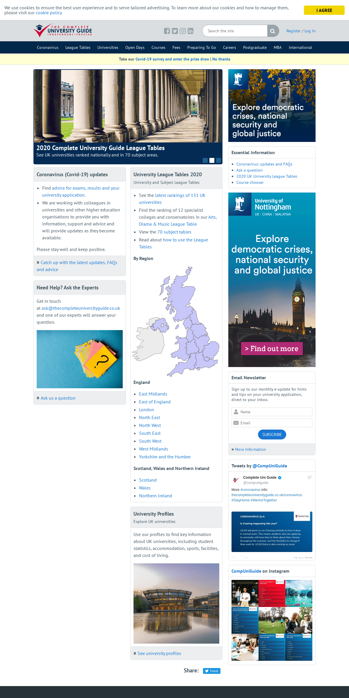 ArchiveBay.com - thecompleteuniversityguide.co.uk - Home - Complete University Guide