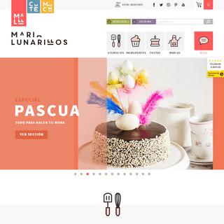 Utensilios de repostería - Tienda online María Lunarillos