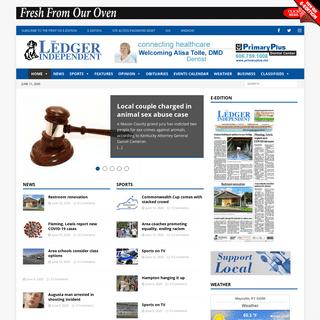 Ledger Independent - Maysville Online