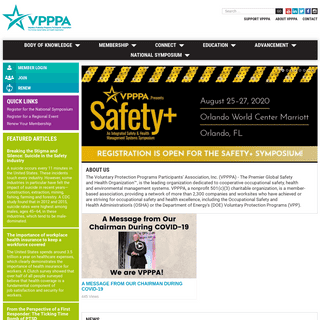 VPPPA, Inc. - The Premier Global Safety and Health Organization™