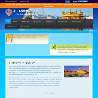 Gateway to Sikhism - Gateway to Sikhism Foundation