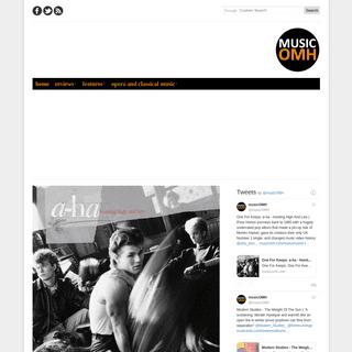 musicOMH - album reviews, live music reviews, interviews, features