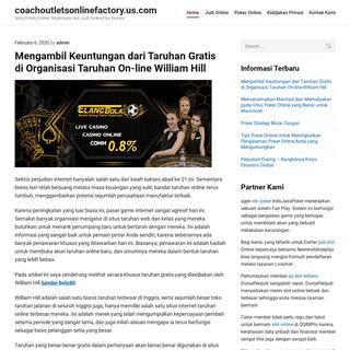 coachoutletsonlinefactory.us.com - Situs Poker Online Terpercaya dan Judi Online Pkv Games