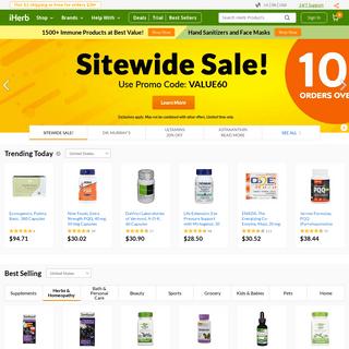 iHerb.com - Vitamins, Supplements & Natural Health Products