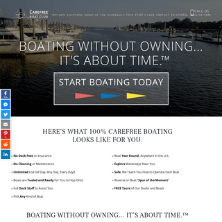 Carefree Boat Club - Boating Without Owning. Members-Only Boat Share