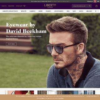 Liberty London - Designer Department Store - Luxury Brands - Liberty London