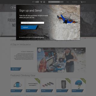 Rock Climbing Gear & Equipment - Trango