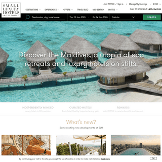 Boutique Hotels & Resorts - Small Luxury Hotels of the World