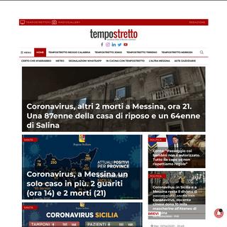 Tempo Stretto - Ultime notizie da Messina e Reggio Calabria - Web e Video News di Cronaca, Meteo ed Eventi