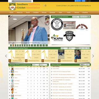 SCCA - Southern California Cricket Association