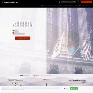 低コストのオンライン取引および投資- インタラクティブ・ブローカーズ