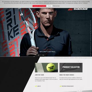 BABOLAT - Tennis, badminton and padel gear - Racket, string, shoe