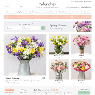 Flower Delivery - Bunches
