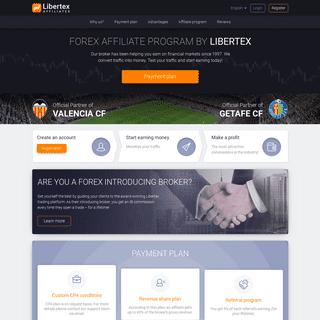 Forex Affiliate Program (CPA or RevShare) - Libertex