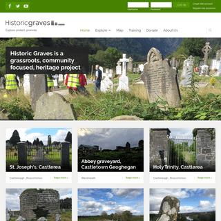 Historic Graves - Explore, protect, promote