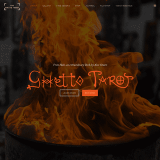 Ghetto Tarot by Alice Smeets – An extraordinary Tarot deck from Haiti!