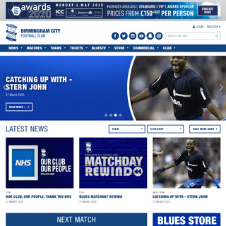 ArchiveBay.com - bcfc.com - Home - Birmingham City Football Club