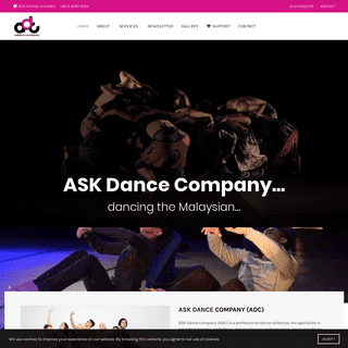 ASK Dance Company – Dancing the Malaysian…ready for the world.