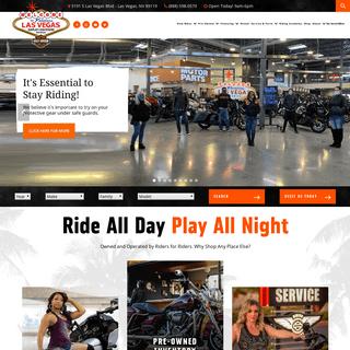 Las Vegas Harley-Davidson - Bike Dealer in Las Vegas, NV