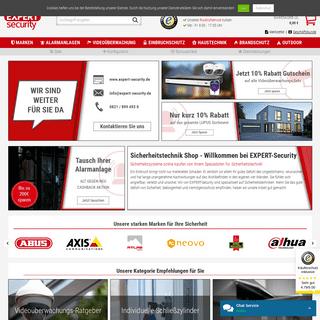 Sicherheitstechnik Shop - Sicherheitssysteme kaufen - Expert Security
