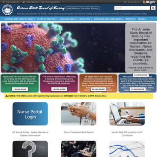 AZBN - Arizona State Board of Nursing