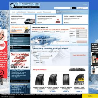 Téligumi webáruház – Téli gumi akció Sérülés Garanciával – Téli gumiabroncs