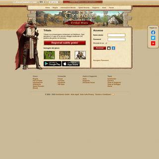 Il gioco browser classico Tribals - gioca gratis ed online!
