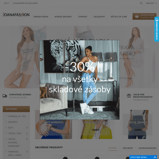 ArchiveBay.com - joanafashion.sk - Joanafashion - módny eshop s najnovšími trendami