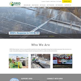 GRID Alternatives - People. Planet. Employment