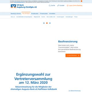 ArchiveBay.com - vrbank-kf-oal.de - Ihre VR Bank - VR Bank Augsburg-Ostallgäu eG