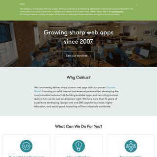 Django Web Development Company - Durham, NC - Caktus Group